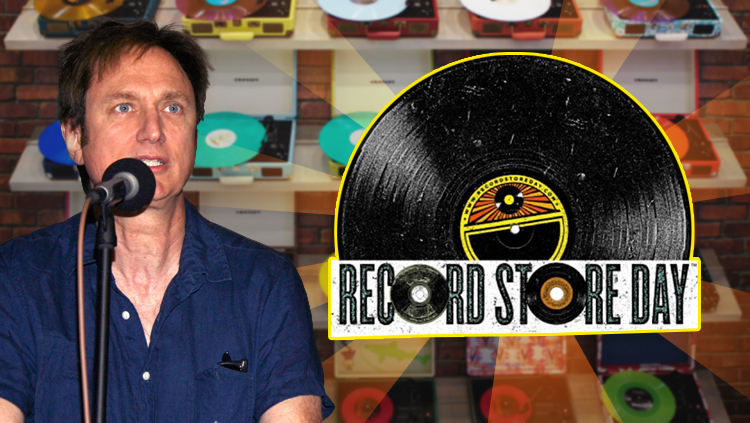 Image of Michael Kurtz, Record Store Day co-founder, by Tommaso Boddi (Getty Image).